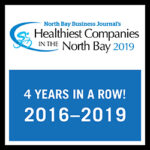 north bay business journal healthiest companies in the north bay logo