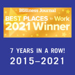 North Bay Business Journals Best Places to Work Winner 7 Years in a Row 2015-2021