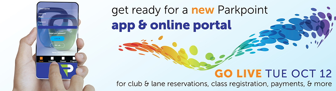 get ready for a new Parkpoint app & online portal go live oct 12
